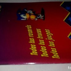 Videojuegos y Consolas: MEGALIBRO-MEGA FORCE-TODOS TUS RECORDS-TODOS TUS TRUCOS.TODOS TUS JUEGOS. Lote 113443263