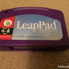 Videojuegos y Consolas: LEADPAD LEAD PAD LIBRO INTEREACTIVO 4-8 AÑOS 1999 2002 CARTUCHO CONSOLA PORTATIL KREATEN. Lote 113624603