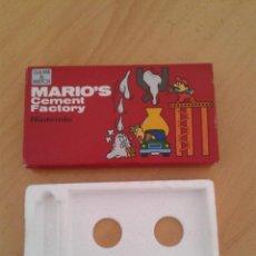 Videojuegos y Consolas: NINTENDO GAME&WATCH WIDESCREEN MARIO CEMENT ML-102 BOX+FOAM MINT/NEAR MINT SEE!! R7305. Lote 114259439