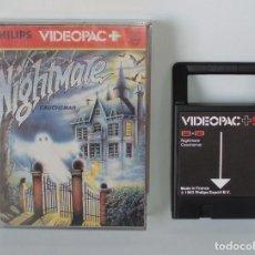 Videojuegos y Consolas: JUEGO PARA PHILIPS G7000 VIDEOPAC Y VIDEOPAC+ Nº 53 - NIGHTMARE - COMPLETO. Lote 114285519