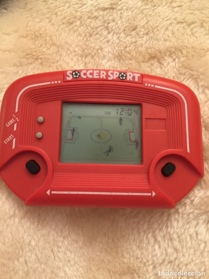 MAQUINITA GAME AND WATCH SOCCER SPORT (Juguetes - Videojuegos y Consolas - Otros descatalogados)
