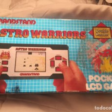 Videojuegos y Consolas: MAQUINITA GAME AND WATCH ASTRO WARRIONS JUEGO SPACE INVADERS,CASIO,VANADI. Lote 114663710