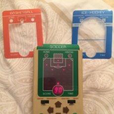 Videojuegos y Consolas: MAQUINITA GAME AND WACTH 3EN 1 TANDY SPORTS ARENA BASKETBALL SOCCER Y ICE HOCKEY. Lote 114665323