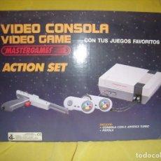 Videojuegos y Consolas: CONSOLA VÍDEO MASTERGAMES, AÑOS 90, REF MK II, NUEVA SIN USAR.. Lote 115276591