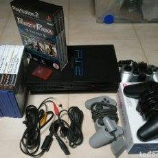 Videojuegos y Consolas: PLAYSTATION 2+3 MANDOS+TARJETA MEMORIA 8 GB+JUEGOS. Lote 116245958