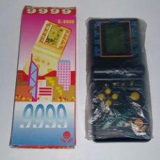 Videojuegos y Consolas: BRICK GAME 9999 IN 1. NUEVA EN CAJA. TETRIS, ARKANOID, CARRERAS DE COCHES.. VARIOS JUEGOS. FUNCIONA.. Lote 116488908