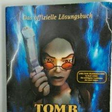 Videojuegos y Consolas: TOMB RAIDER DIE CHRONIK CHRONICLES 2000 GUÍA EN ALEMÁN RARA. Lote 116537416