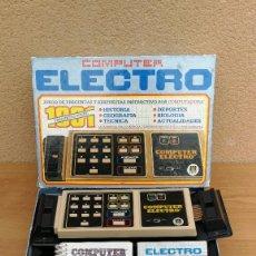 Videojuegos y Consolas: JUEGO DE PREGUNTAS COMPUTER ELECTRO DE DISET CON LIBRO 1 Y 2 COMPLETO FUNCIONANDO . Lote 116573899