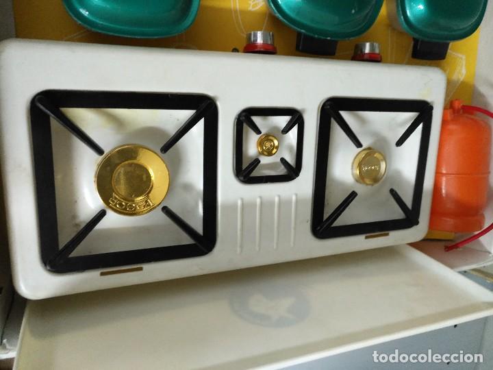caja de juego de niña de cocina completo con su - Comprar ...