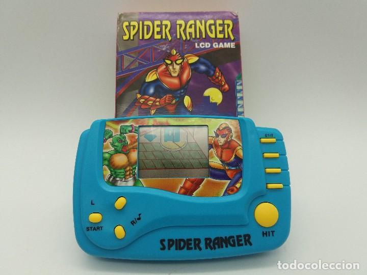 VIDEOCONSOLA SPIDER RANGER LCD GAME - NUEVA A ESTRENAR - FUNCIONA (Juguetes - Videojuegos y Consolas - Otros descatalogados)