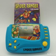 Videojuegos y Consolas: VIDEOCONSOLA SPIDER RANGER LCD GAME - NUEVA A ESTRENAR - FUNCIONA. Lote 117328995