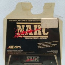 Videojuegos y Consolas: GAME BOY WATCH NARC ACCLAIM SUPERPLAY 1990. Lote 117471723