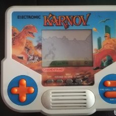 Videojuegos y Consolas: TIGER, 1988,LCD, MAQUINITA, GAME AND WATCH, KARNOV. Lote 117725886