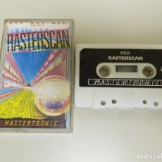 Videogiochi e Consoli: 918- RASTERSCAN MSX 64 K CASSETTE IX O167. Lote 54229164