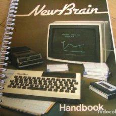 Videojuegos y Consolas: NEWBRAIN HANDBOOK GRUNDY BUSINESS SYSTEMS. Lote 117854783