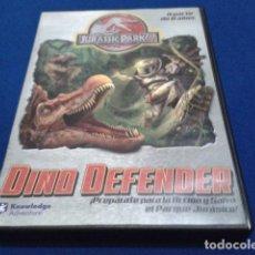 Videojuegos y Consolas: JUEGO PC CD ROM - JURASSIC PARK III ( DINO DEFENDER ) 2001 KNOWLEDGE ADVENTURE CON SU LIBRETO. Lote 118217747