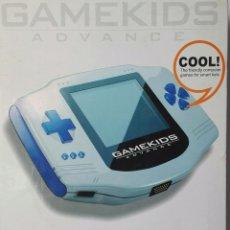 Videojuegos y Consolas: CONSOLA GAMEKIDS ADVANCE NUEVA A ESTRENAR. Lote 118360743