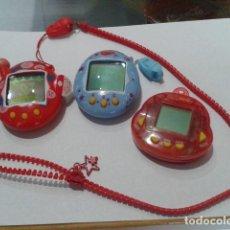 Videojuegos y Consolas: LOTE DE 3 TAMAGOTCHIS ANTIGUOS VER FOTOS. Lote 118752419