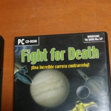 Videojuegos y Consolas: FIGHT FOR DEATH PC CD-ROM. Lote 119361855