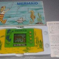 Videojuegos y Consolas: MERMAID (SIRENA) - VIDEOJUEGO MAQUINITA LCD , GAME & WATCH, LCD GAME - AÑOS 80. Lote 119448999