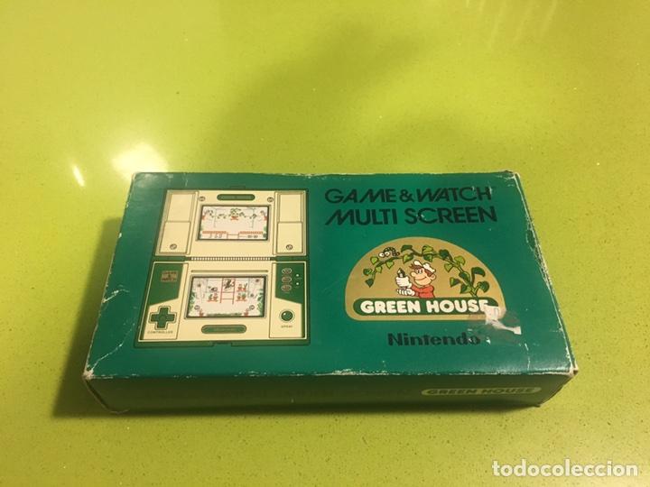 Videojuegos y Consolas: Game Watch,Green house version Francia Nintendo,Bandai,sega,electronic game - Foto 3 - 107049463