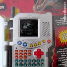Videojuegos y Consolas: JURASSIC PARK III - DINO-DEX DE HASBRO (2001) DINO DEX DINOSAURIO PARQUE JURASICO WORLD JURASIC. Lote 120098231