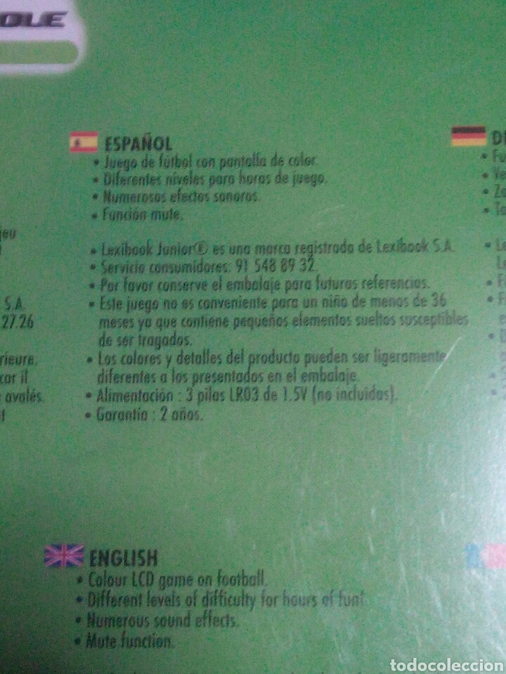 Videojuegos y Consolas: Maquinita tipo game watch - Foto 3 - 120359987