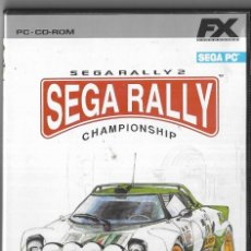 Videojuegos y Consolas: == D248 - JUEGO SEGA RALLY - CHAMPIONSHIP - SEGARALLY 2. Lote 120466755