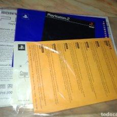 Videojuegos y Consolas: DOCUMENTACION Y INSTRUCCIONES DE LA PS 2 SIN ABRIR. Lote 120751918