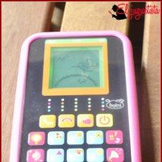 Videojuegos y Consolas: BABY - MI PRIMER SMARTPHONE - TELEFONO INTERACTIVO CON DIFERENTES ACTIVIDADES. Lote 121127527