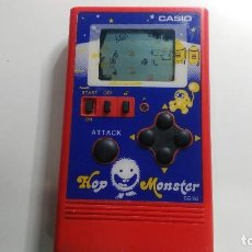 Videojuegos y Consolas: ANTIGUA MAQUINITA DE CASIO GAME WATCH CG-80 HOP MONSTER . Lote 121240131