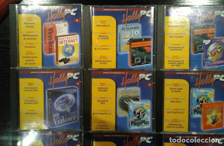 Videojuegos y Consolas: Coleccion completa multimedia Hobby Pc - Foto 2 - 121420118