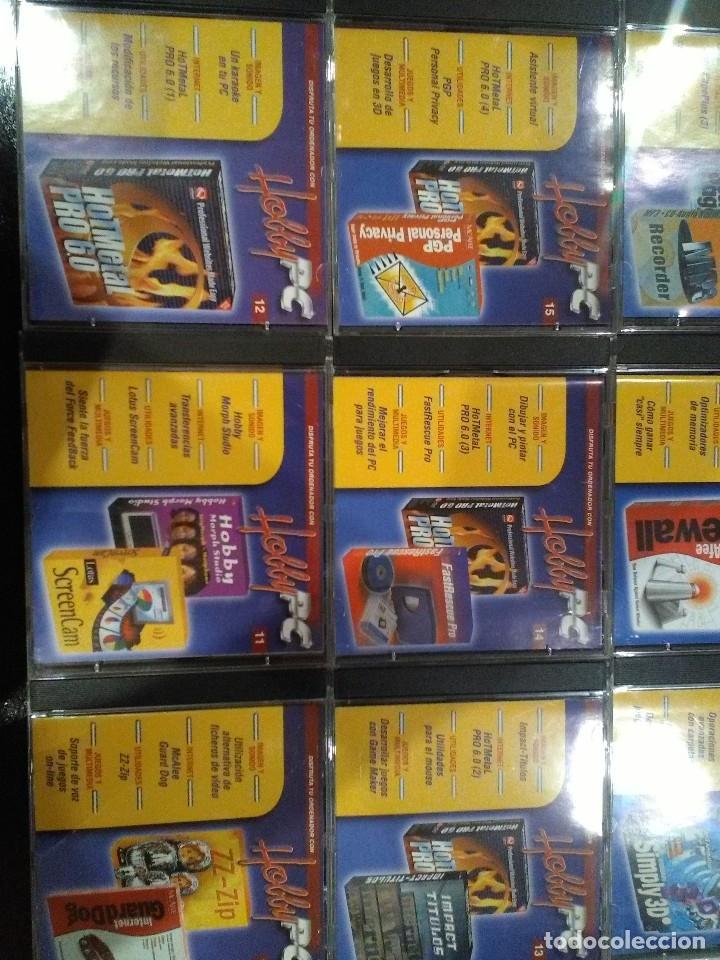 Videojuegos y Consolas: Coleccion completa multimedia Hobby Pc - Foto 3 - 121420118