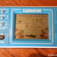 Videojuegos y Consolas: MAQUINITA LCD GAME AND WATCH SUBMARINE . Lote 122445935