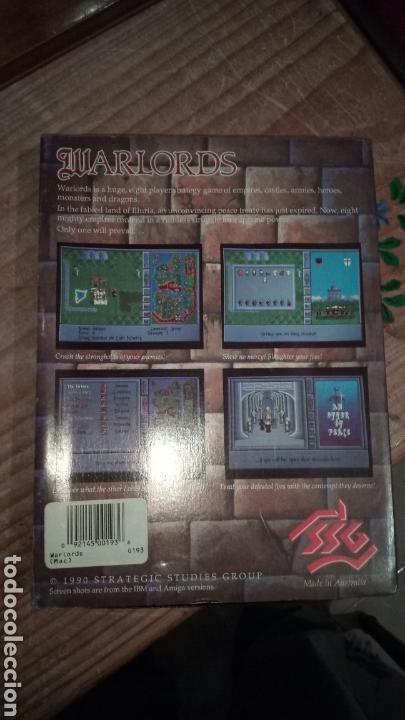 Videojuegos y Consolas: Warlords juego macintosh - Foto 2 - 122304814