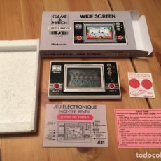 Videojuegos y Consolas: GAME & WATCH NINTENDO WIDE SCREEN TURTTLE BRIDGE,BANDAI,SEGA,ATARI,MSX,ELECTRONIC GAME,ANTIGUO. Lote 122729579