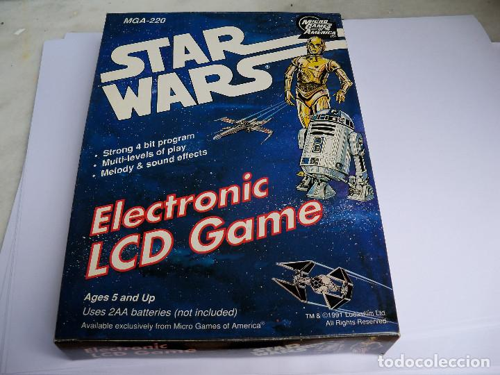 MICRO GAMES OF AMERICA STAR WARS (Juguetes - Videojuegos y Consolas - Otros descatalogados)
