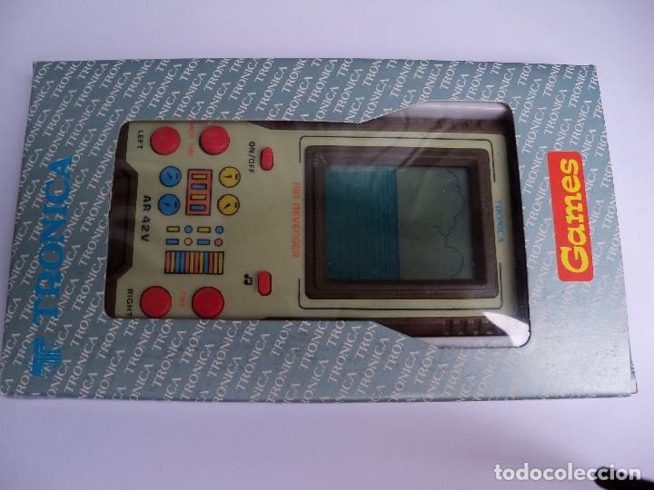 MAQUINITA ELECTRONICA JUEGO LCD GAMES AIR REVENGER DE TRONICA (Juguetes - Videojuegos y Consolas - Otros descatalogados)