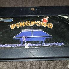 Videojuegos y Consolas: PINGPONG INTERACTIVE GAME CARTRIGE JUEGO INTERACTIVO PING PONG AÑOS 80'S. Lote 123080419