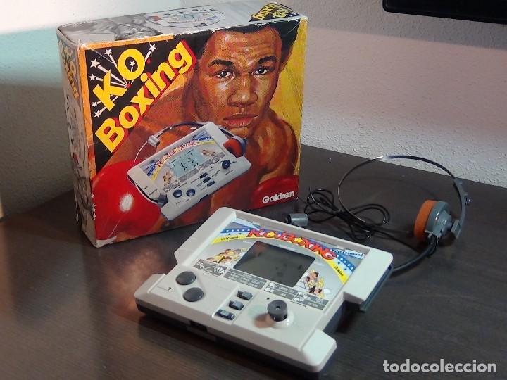 K.O. BOXING DE GAKKEN - MADE IN JAPAN - JUEGO LCD - VER VIDEO (Juguetes - Videojuegos y Consolas - Otros descatalogados)