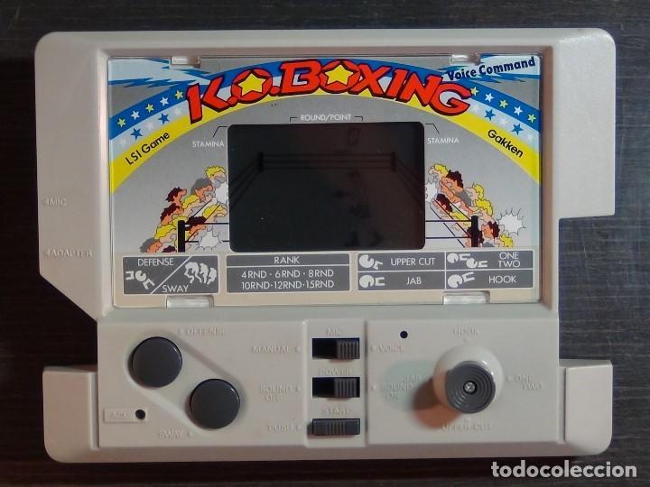Videojuegos y Consolas: K.O. BOXING DE GAKKEN - MADE IN JAPAN - JUEGO LCD - Ver Video - Foto 2 - 123121659