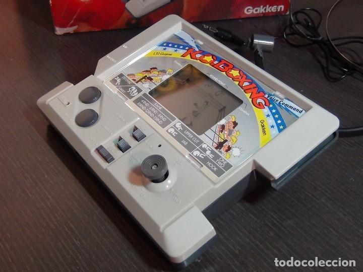 Videojuegos y Consolas: K.O. BOXING DE GAKKEN - MADE IN JAPAN - JUEGO LCD - Ver Video - Foto 4 - 123121659
