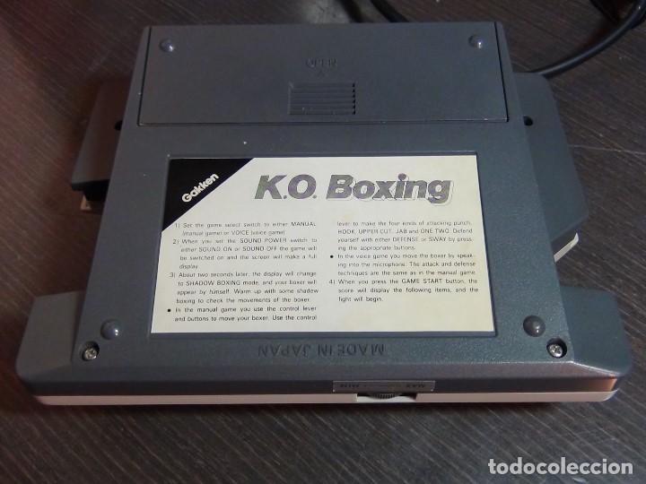 Videojuegos y Consolas: K.O. BOXING DE GAKKEN - MADE IN JAPAN - JUEGO LCD - Ver Video - Foto 7 - 123121659