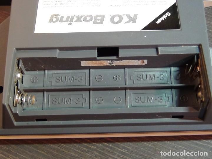 Videojuegos y Consolas: K.O. BOXING DE GAKKEN - MADE IN JAPAN - JUEGO LCD - Ver Video - Foto 11 - 123121659