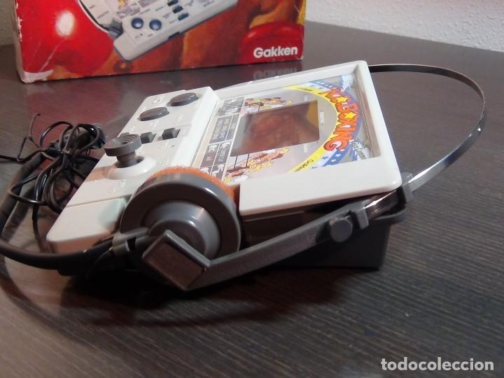 Videojuegos y Consolas: K.O. BOXING DE GAKKEN - MADE IN JAPAN - JUEGO LCD - Ver Video - Foto 13 - 123121659