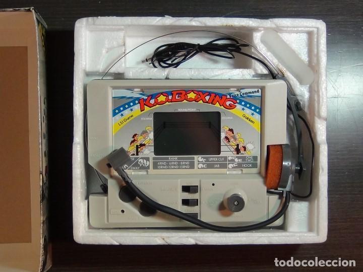 Videojuegos y Consolas: K.O. BOXING DE GAKKEN - MADE IN JAPAN - JUEGO LCD - Ver Video - Foto 24 - 123121659