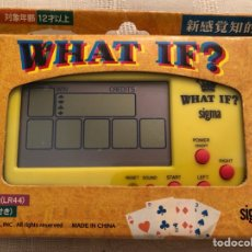 Videojuegos y Consolas: MAQUINITA TIPO GAME AND WATCH PÓKER WHAT IF?. Lote 124332466