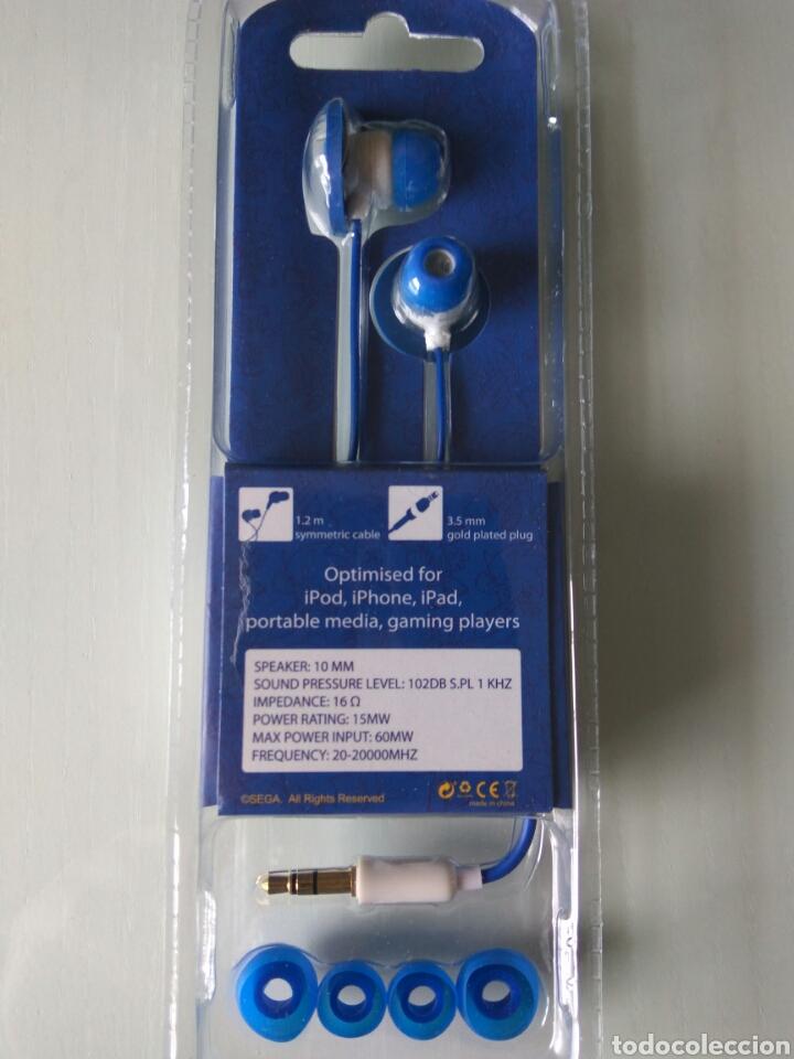 Videojuegos y Consolas: auriculares Sonic the Hedgehog earbuds Sega - Foto 2 - 124344626