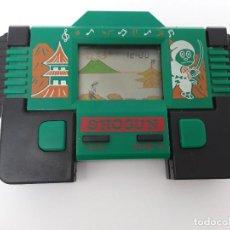 Videojuegos y Consolas: SHOGUN -VINTAGE -PEQUEÑA CONSOLA DE MANO-AÑOS 80- VÍDEO JUEGO -NINJA-FUNCIONANDO. Lote 124629311