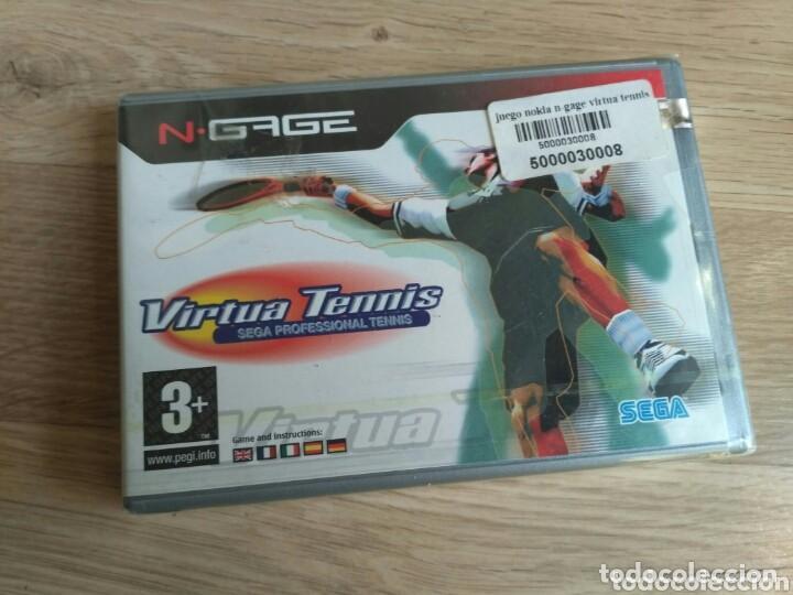 NOKIA NGAGE JUEGO VIRTUA TENNIS NUEVO (Juguetes - Videojuegos y Consolas - Otros descatalogados)